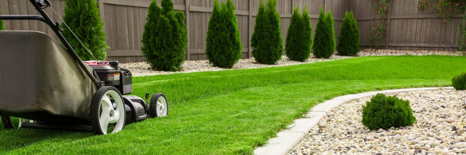 Gartenunterhalt | Rasen mähen